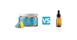 CBD Gummies vs CBD Oil