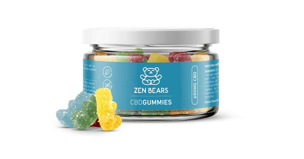 Our CBD-infused ZenBears are now available in 10 new stores across the UK!