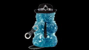 blue gummy police