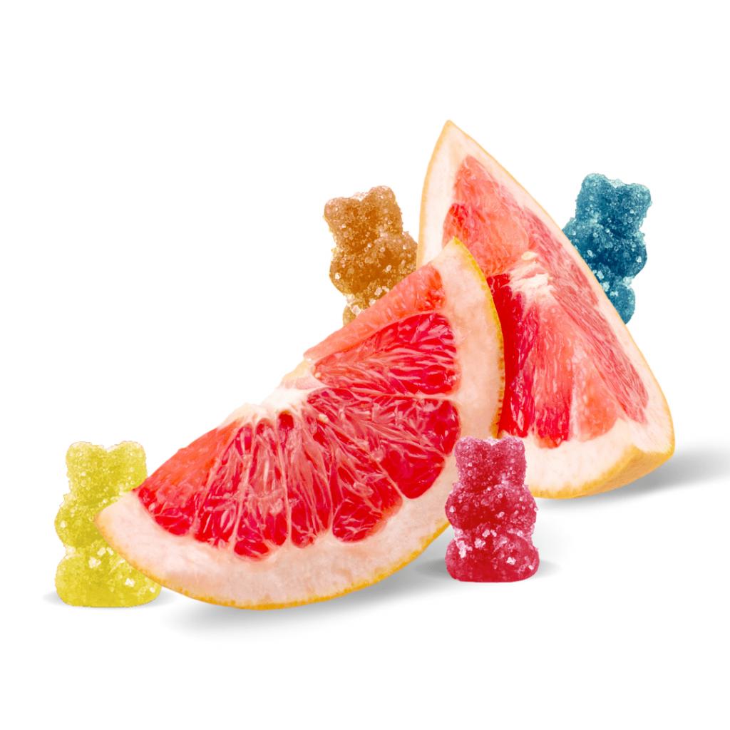 zenbears with grapefruit