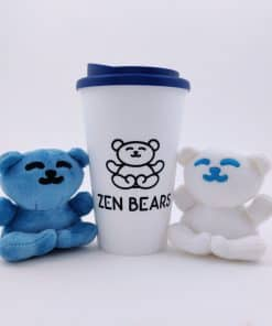 Zenbears Coffee Cup with plush