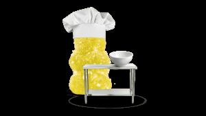chef yellow gummy