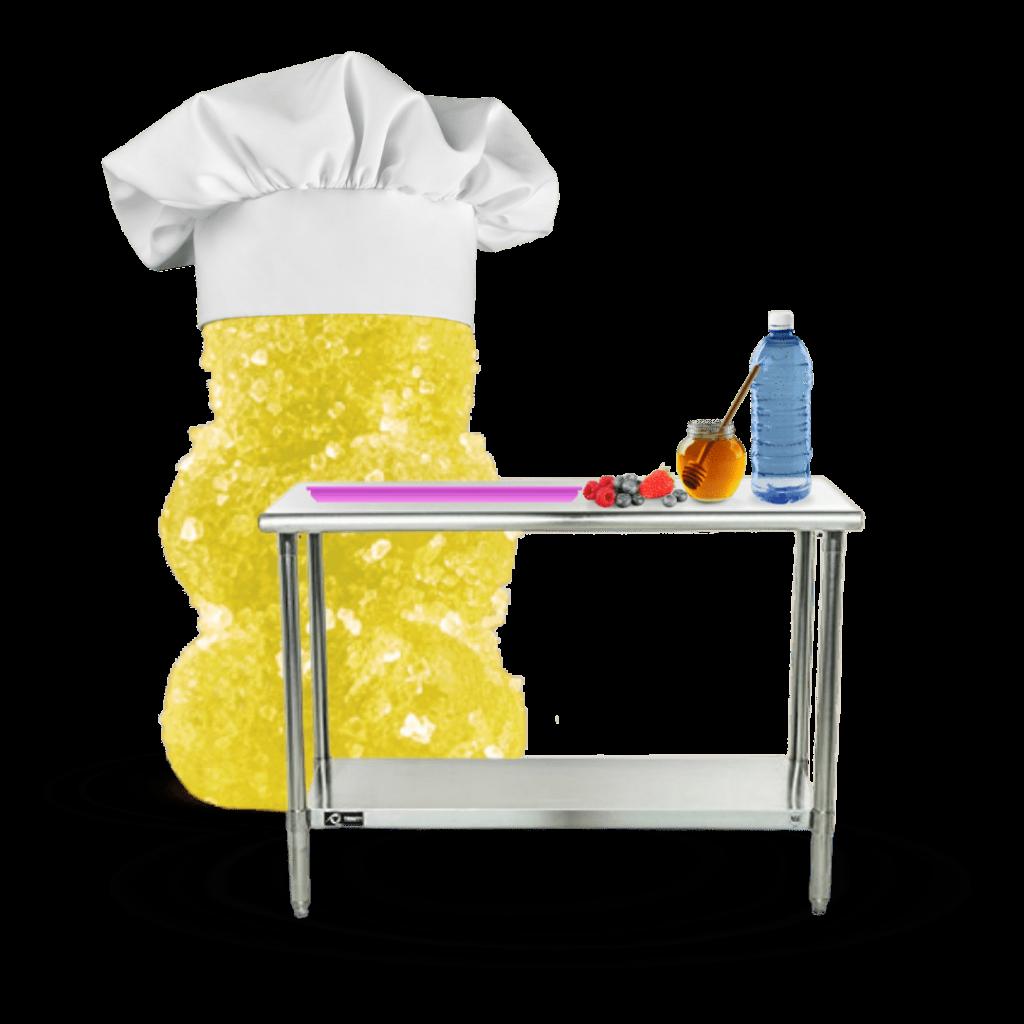 gummy bear making gummies