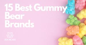15 best gummy bear brands