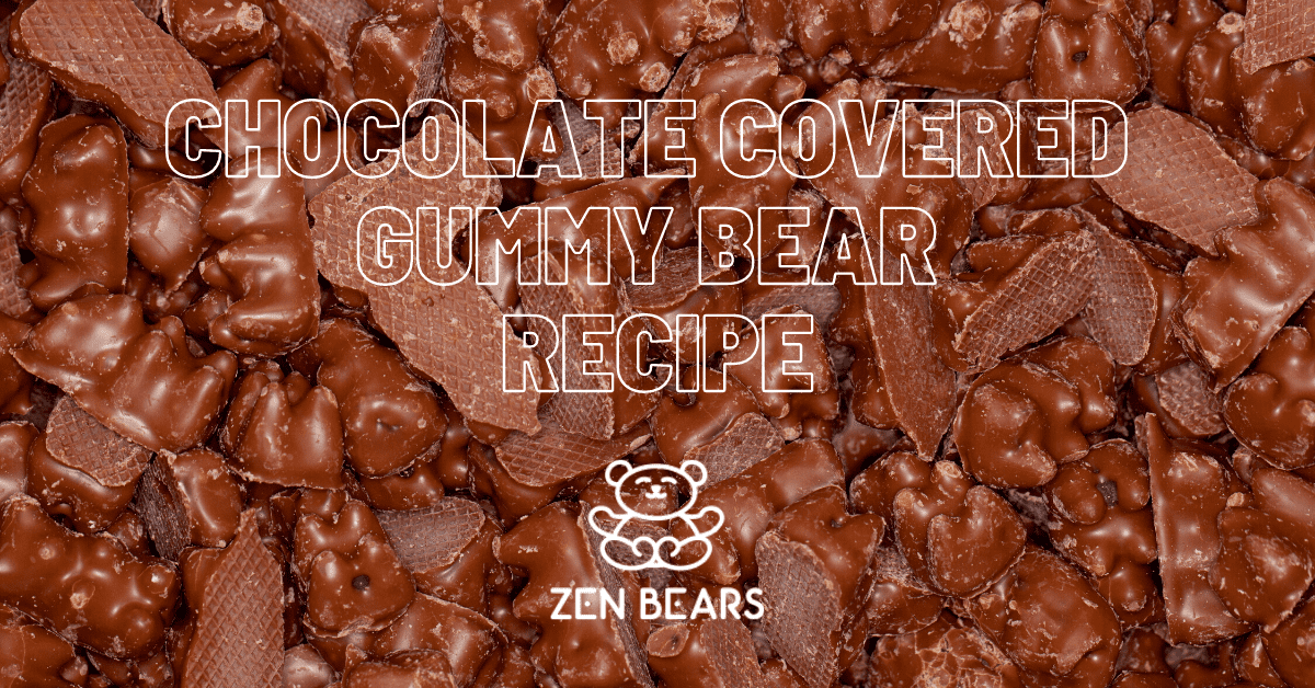 Learn how to make chocolate covered gummy bears