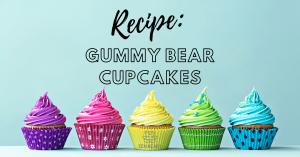 Gummy Bear Cupcakes Recipe