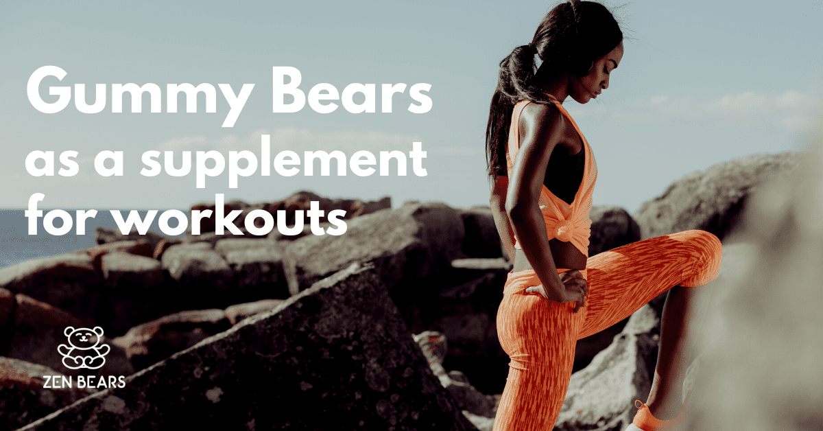Gummy Bears as a Supplement for Workout