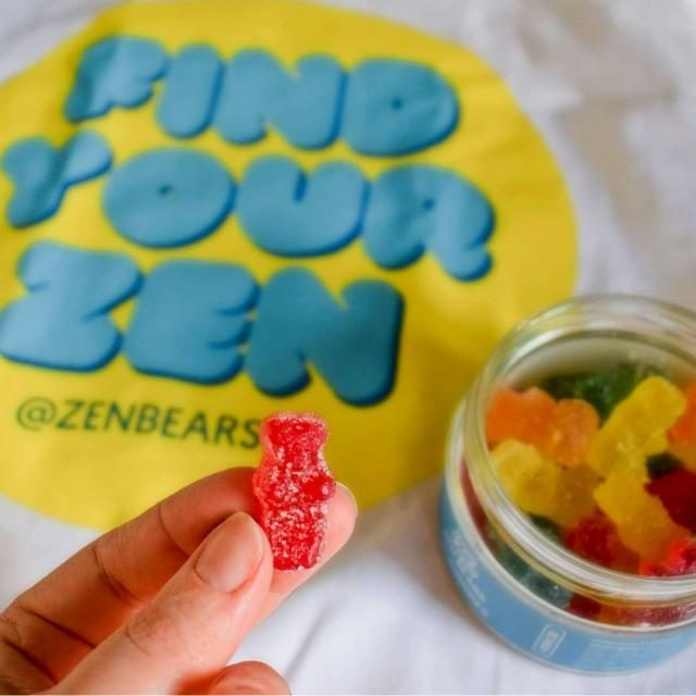 """""""Really love these! Feel like they've helped curbed my anxiety so much, if you haven't had oils or CBD in a while the first gummy had a slight taste but you honestly get use to it and they taste really good. Im on my second tub now and I'm considering buying the subscription."""" - Holly on TrustPilot 💙  Have you found your Zen yet?"""
