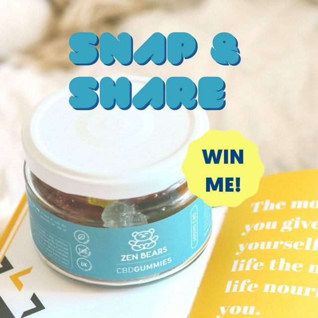 🐻 SNAP AND SHARE! 🐻  We really appreciate all of you who buy ZenBears and as a thank you to our customers, we have launched a 'Snap and Share!' For anyone who posts a photo of their ZenBears gets automatically entered into a draw of a chance to win a pot or a pouch!  Entries close 30th July - so get your photos in and remember to tag us @zenbearsuk. PS - make sure you have a public Instagram so we can see them! Entrants must be over 18 and currently reside in the UK. • • • #snapandshare #giveback #vegancbd #cbdgummies #cbdproduct #cbduk #giveaway #giveawaytime #giveawayuk #competitiontime #vegansupplements #cantbelieveitsvegan